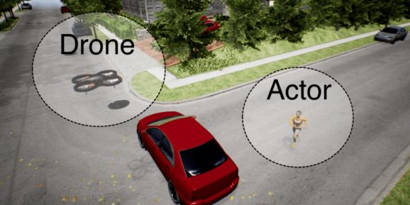 AI drone videographer