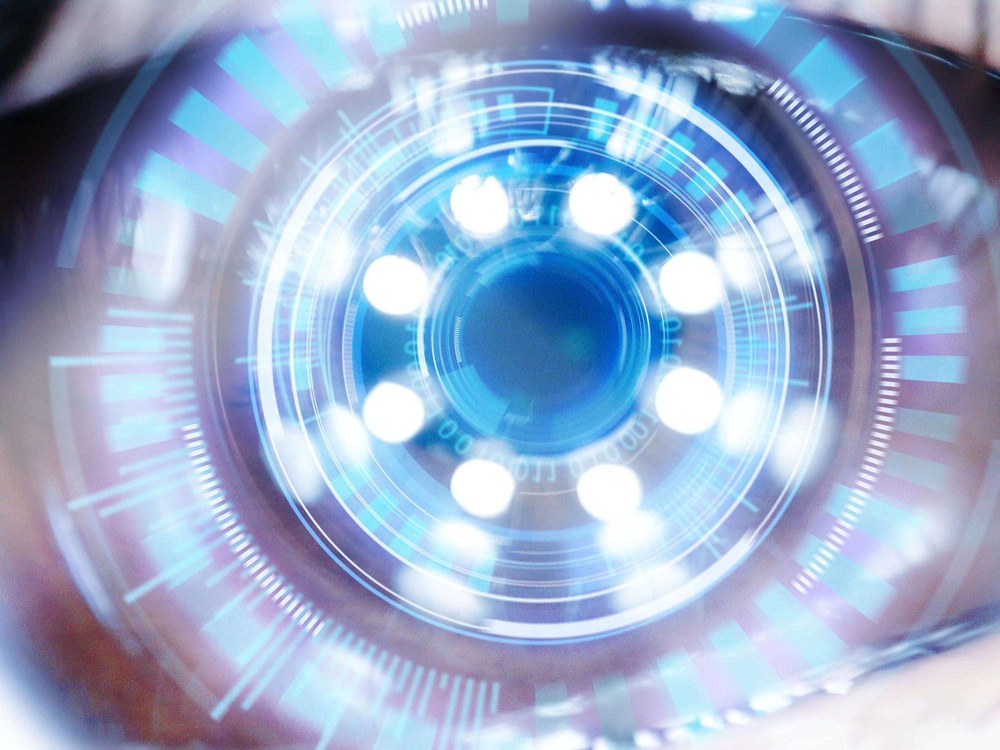digital camera as an eye