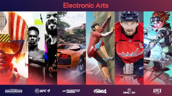 EA's popular games