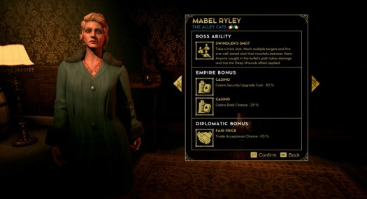 Mabel Ryley is a mobster in Empire of Sin.