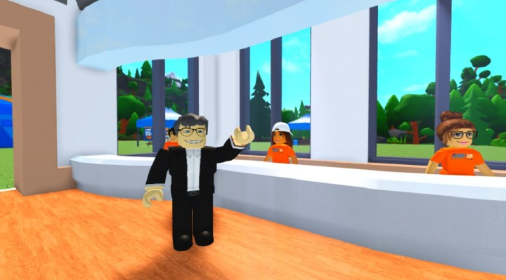 CEO inside Roblox