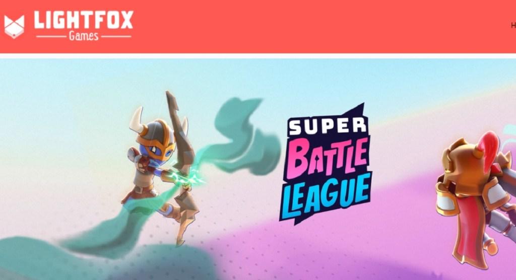 Το Super Battle League είναι το πρώτο παιχνίδι για τα παιχνίδια Lightfox.