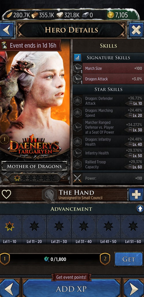 Game of Thrones: Conquest introduces Heroes update to juice mobile game 2