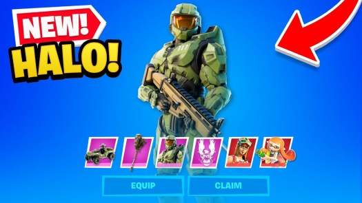 Chief in Fortnite and more.