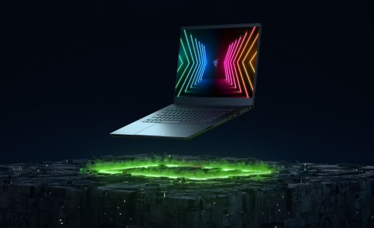 Razer shows smart mask, futuristic gaming chair, and new RTX laptops 4