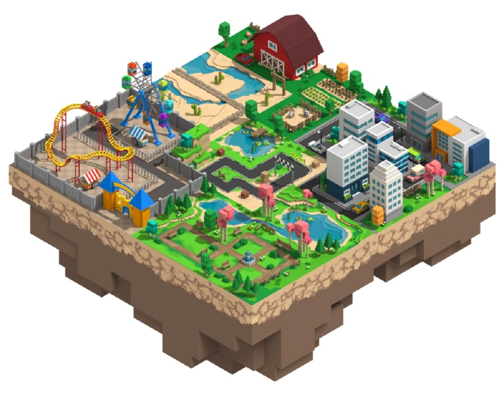 Yield Guild Games bought a stake in The Sandbox's virtual real estate auction.