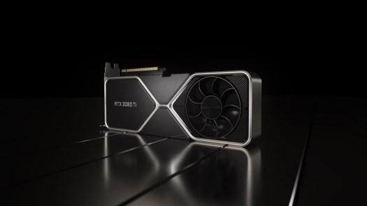 Nvidia GeForce RTX 3080 Ti graphics card.