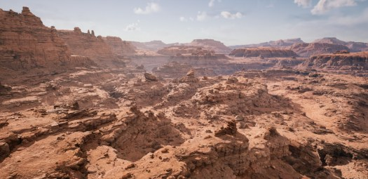 Unreal Engine 5 can capture an open world.