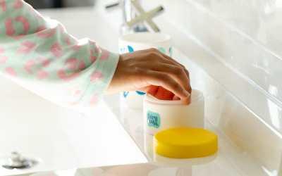 Allereerste tandpasta tablet voor kinderen