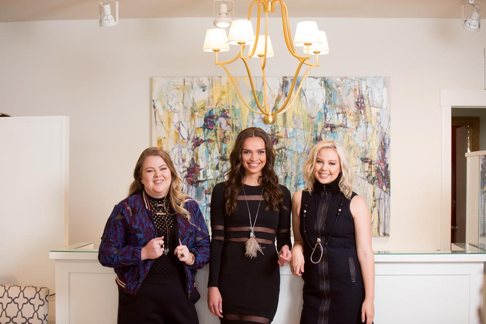 Bree Caspi, Brooke Caspi, Hannah Wright
