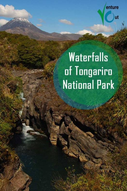 Tongariro National Park Waterfall