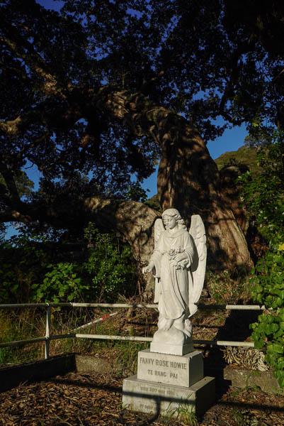 The Grave of Princess Te Rangi Pai & John Howie