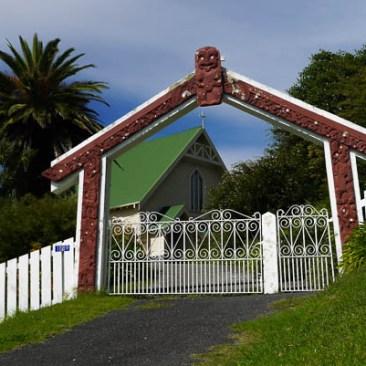 Entrance to the Tiki Tiki Church
