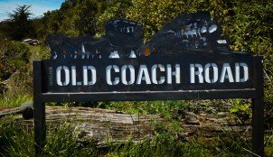 Old Coach Road sign