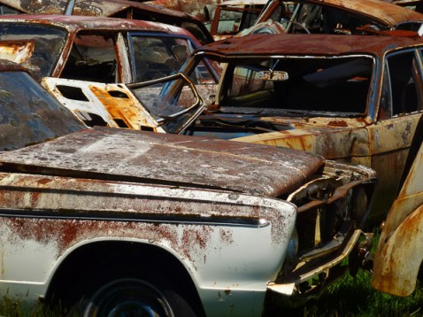 Smash Palace car wrecks