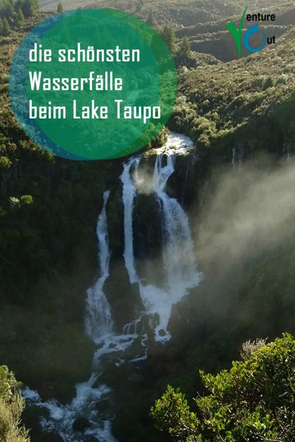 Taupo Wasserfall