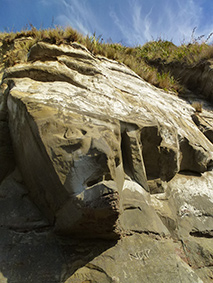 Waikawau Stone Carving