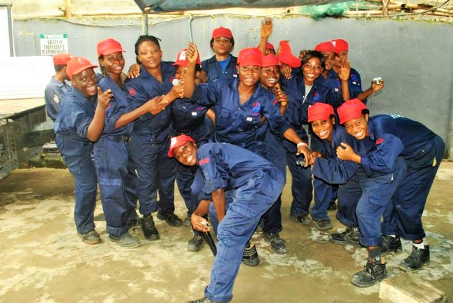 Image result for Nigerian Lady Mechanic