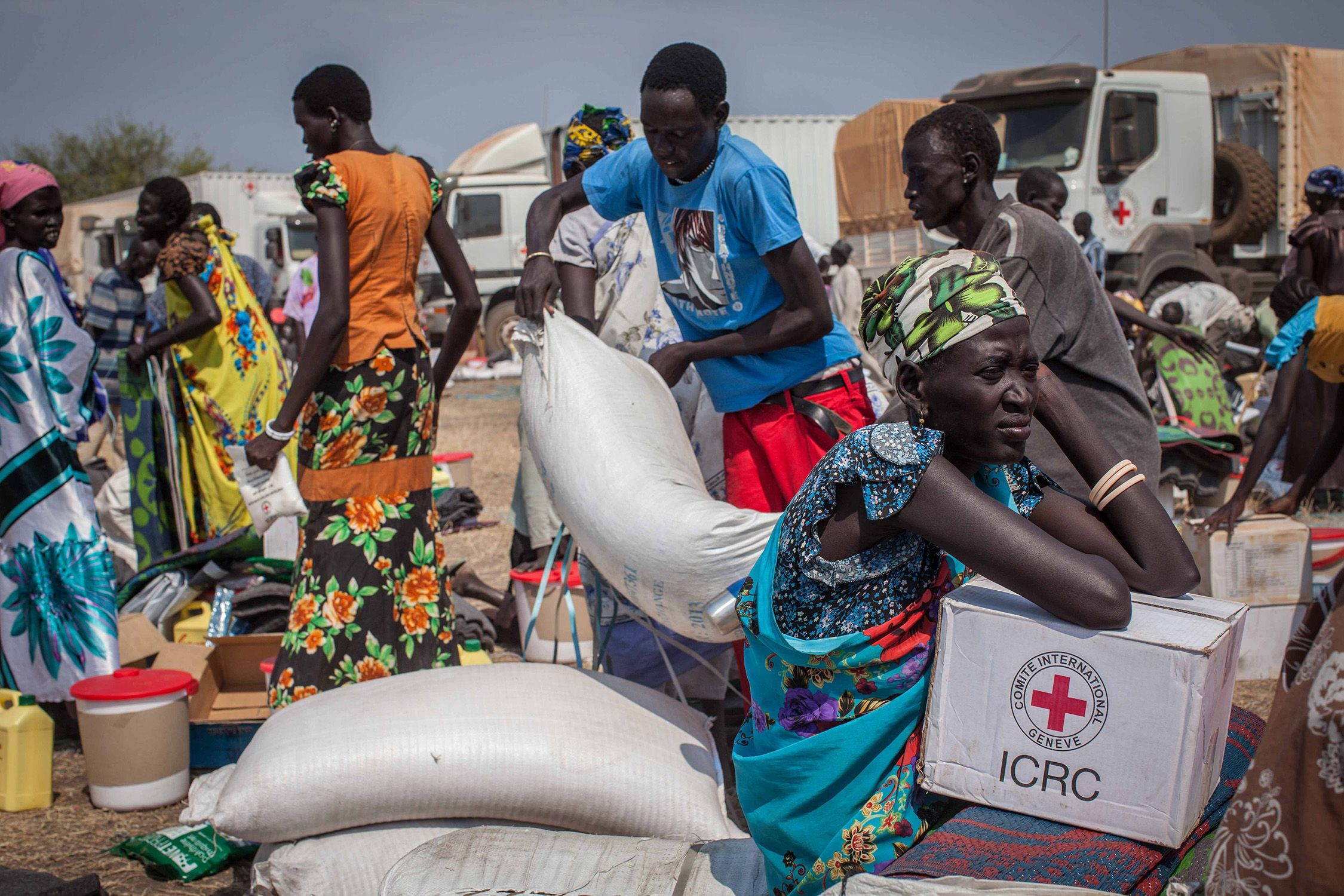 aid workers in south sudan - UN: South Sudan needs $61m to respond to devastating flood