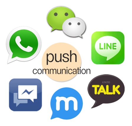 push_communication_with_messengers
