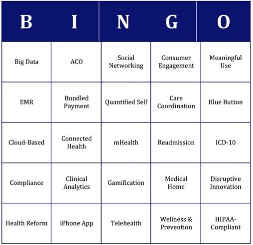 Healthcare It Bingo