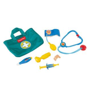 The Fisher Price Medical Kit