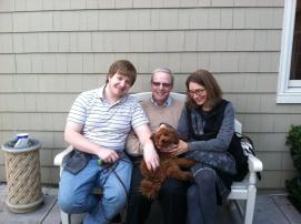 Bob Wachter and family