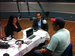 On the air with Sachin Jain