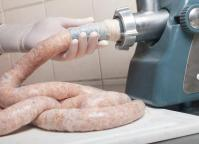 Sausage making - never pretty