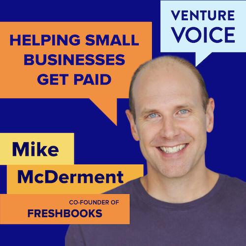 Mike McDerment of FreshBooks