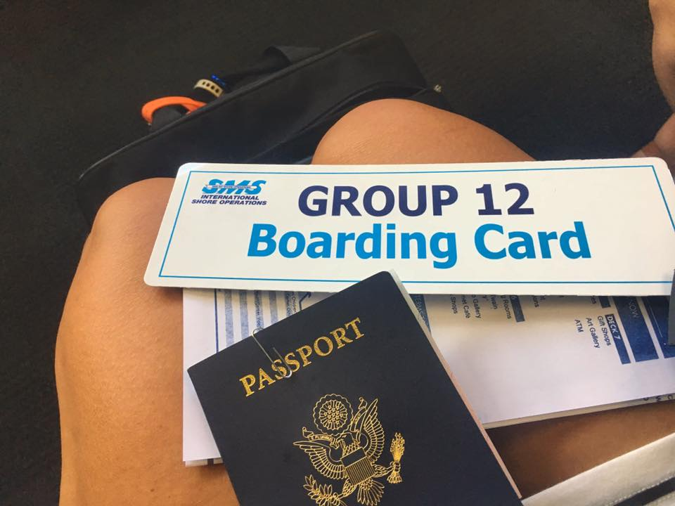 Boarding To Cuba
