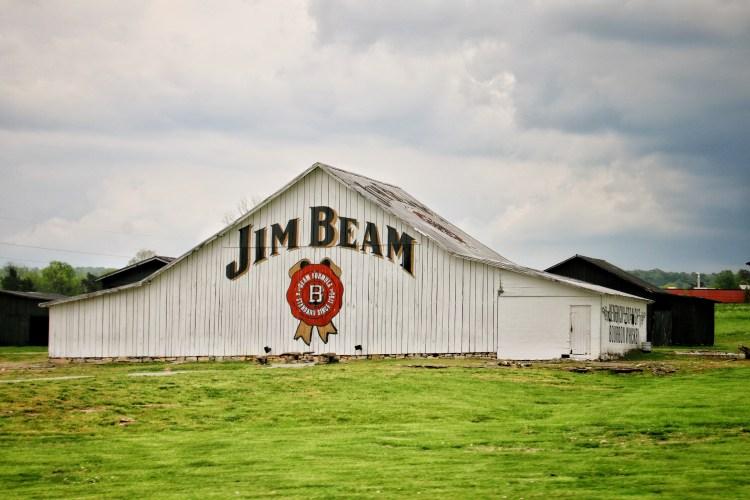 Jim Beam Barrel Aging House