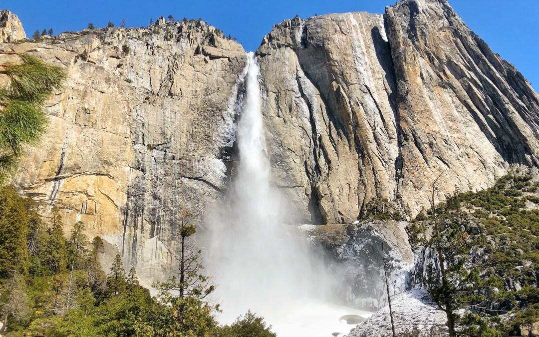 Hiking To Upper Yosemite Falls