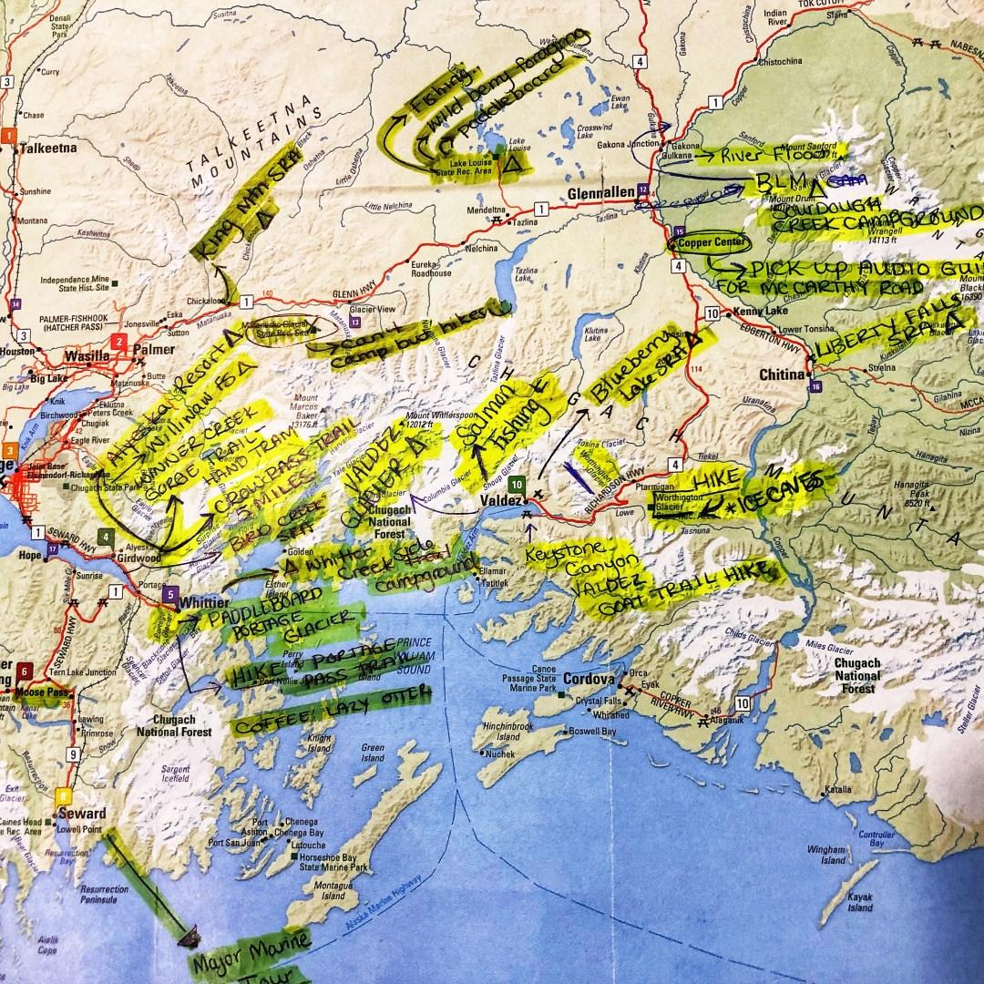 Alaska Travel Planning