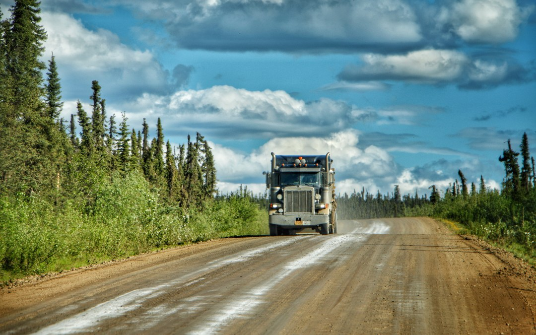 Driving To The Arctic Circle & Becoming Ice Road Truckers On The Dalton Highway