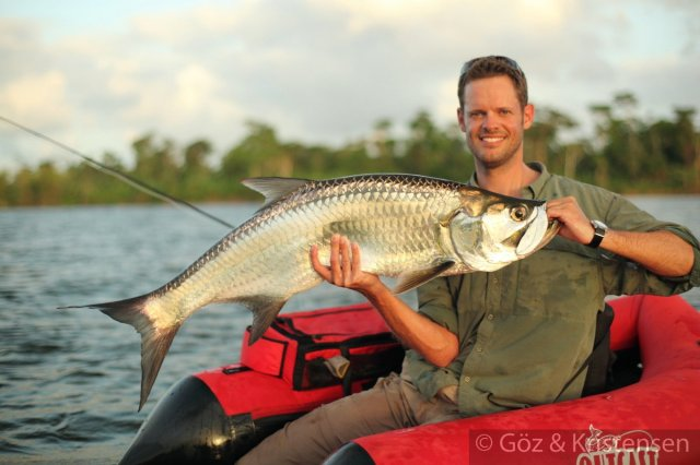 float tube tarpon