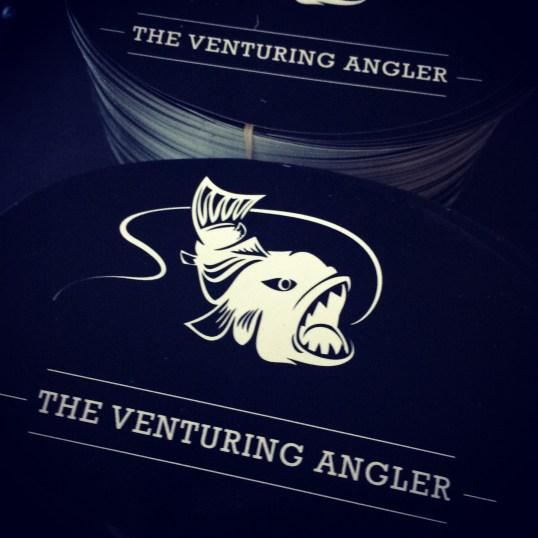 Venturing Angler Stickers