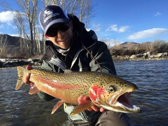 Bryan Glass Steelhead Salmon River 1
