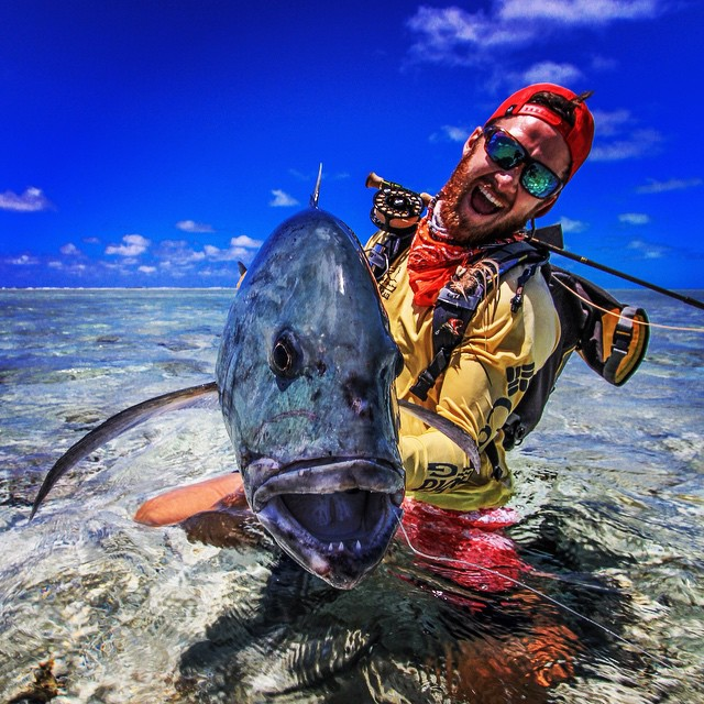 Christiaan Pretorius Giant Trevally
