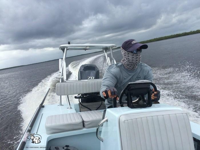 Jason Sullivan Rising Tide Charters Everglades (Cr: Tim Harden)
