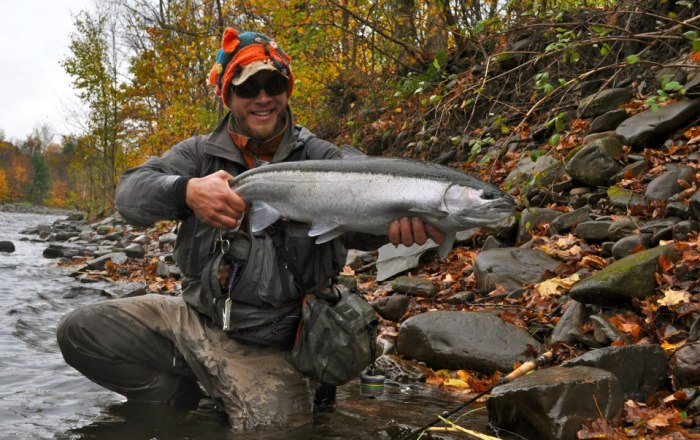 Tom Martin steelhead fly fishing
