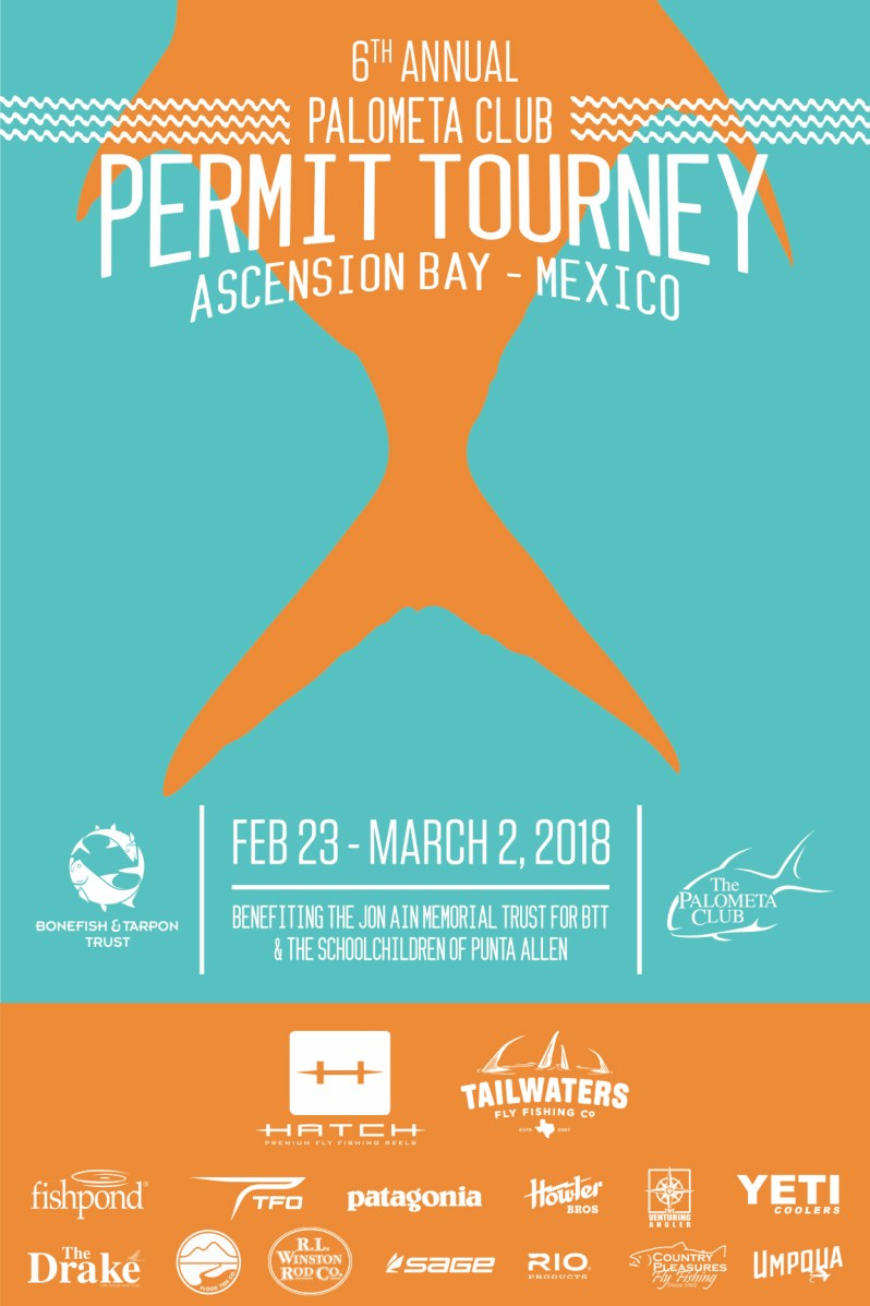6th Annual Tourney Poster Palometa Club