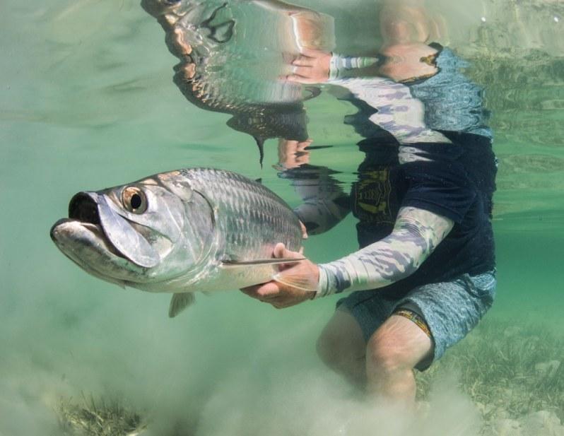 Cuba fly fishing tarpon