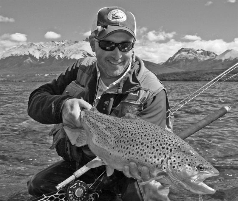 Jonathan Heames fly fishing