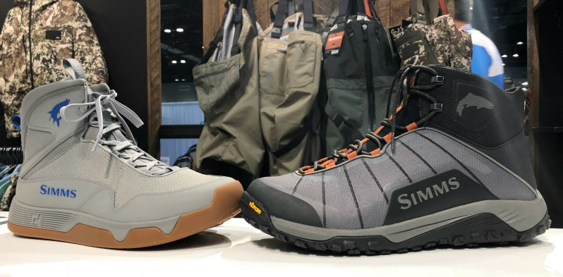 New Simms Wading Boots