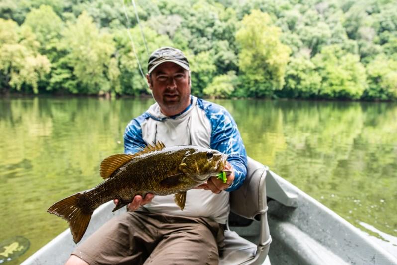 Jacob Ott fishing