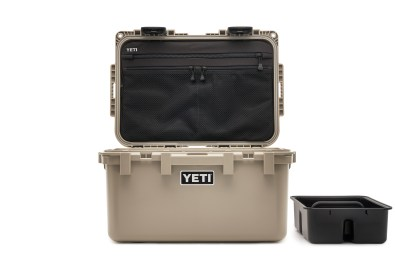 YETI_LoadOutGoBox_Front_Lid-Open_Tan_Caddy-Off-to-Side