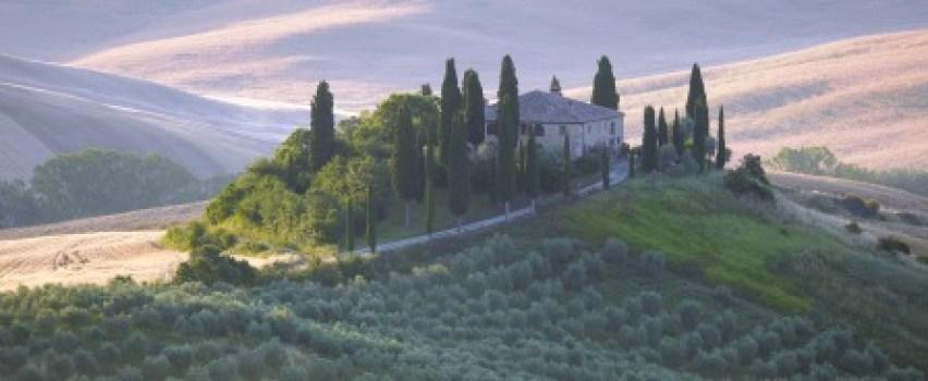A Tuscan hillside