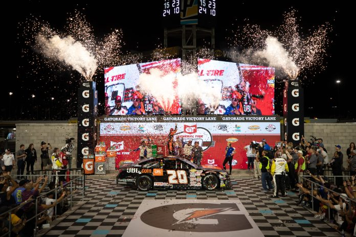 Chandler Smith Wins at Phoenix Raceway