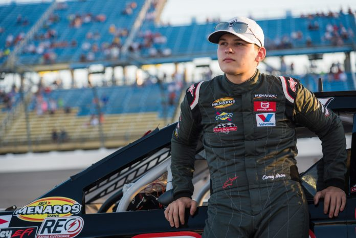 Corey Heim Joins Venturini Motorsports for Partial 2020 ARCA Schedule